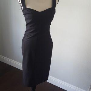 Sexy Diane Von Furstenberg black dress size 6